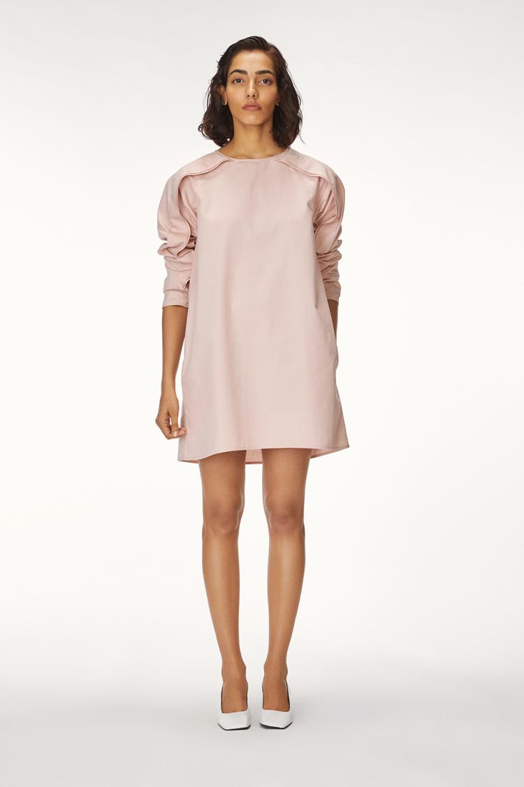 wing shift dress